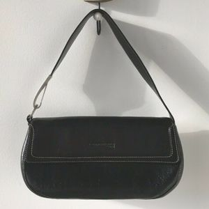 Kenneth Cole New York: Black Leather Handbag